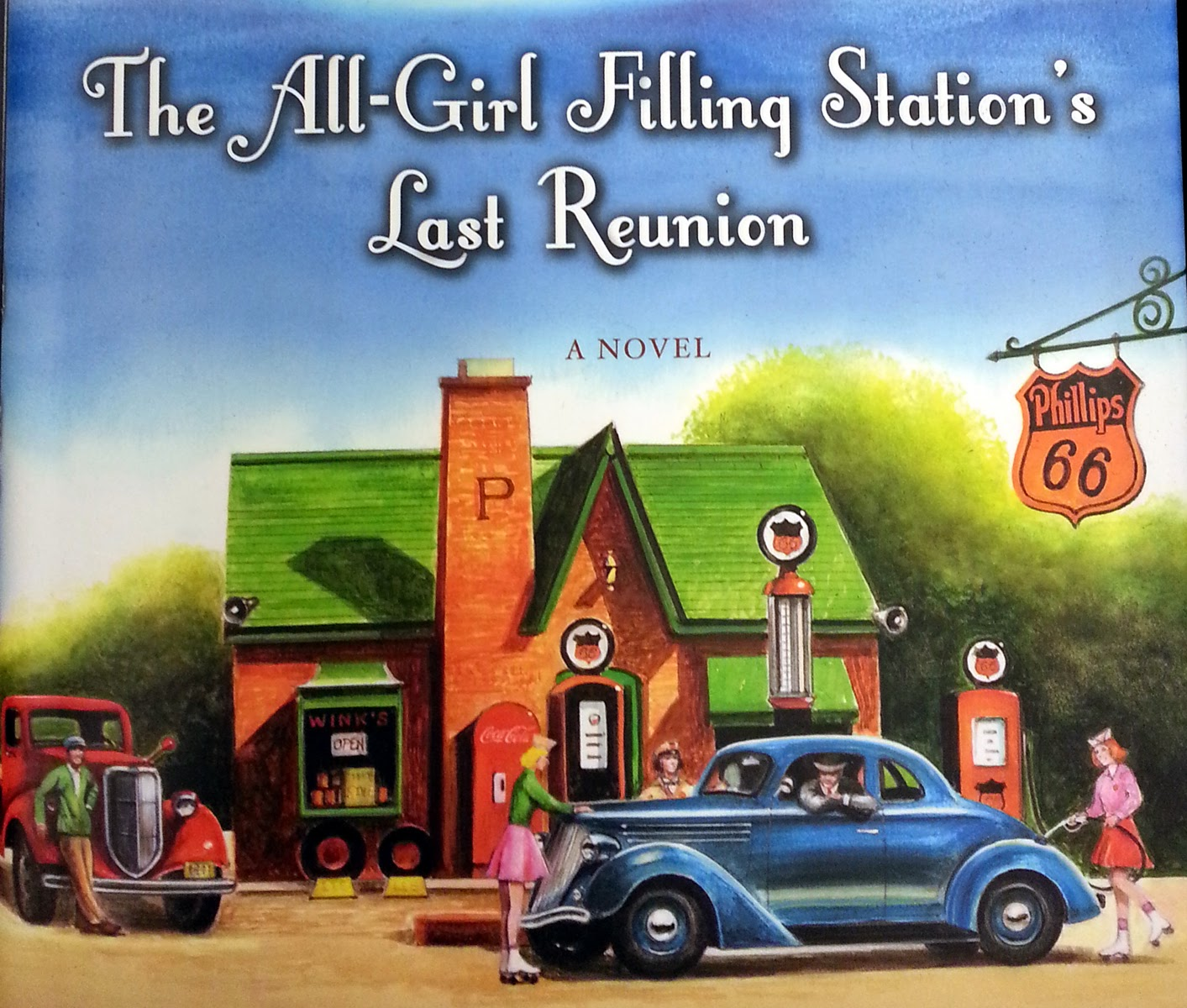 Book Discussion – The All Girl Filling Station's Last Reunion by Fannie Flagg