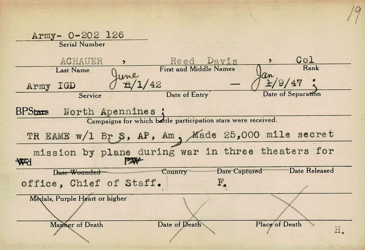 Muskingum County WWII Veterans Archive – A