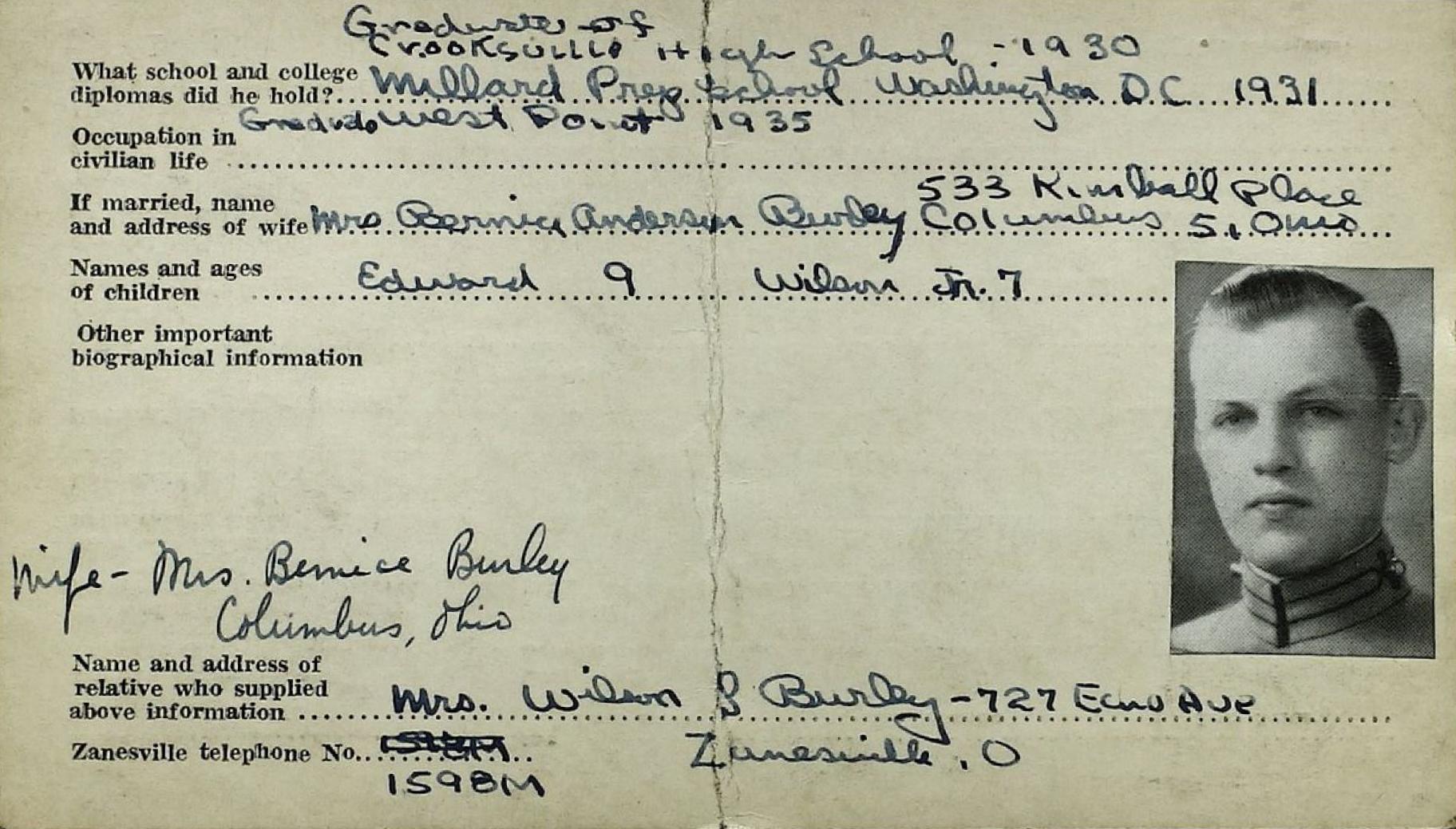 Schneider WWII Muskingum Veterans Archive – B