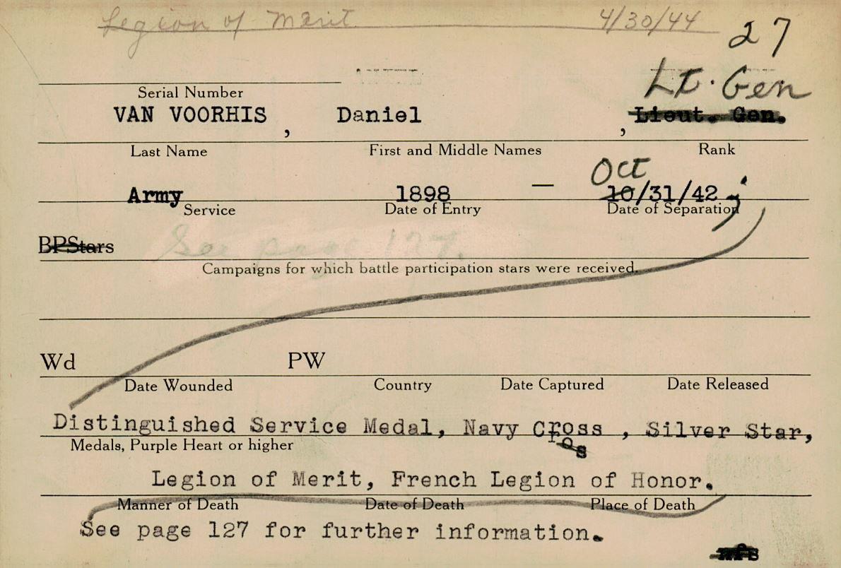 Schneider WWII Muskingum Veterans Archive – V