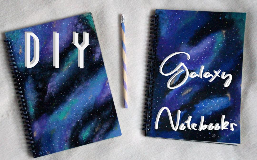 Teen Galaxy Notebook Craft