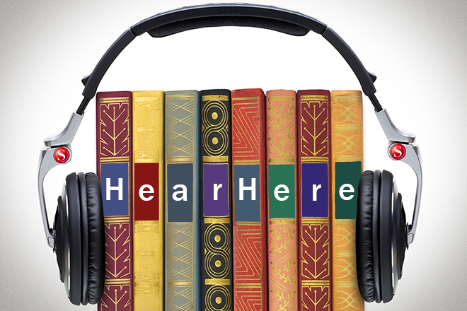 Hear Here – Audiobook Discussion Group